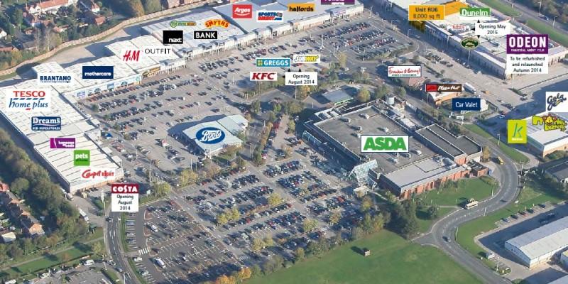 Croft Retail & Leisure Park, Bromborough
