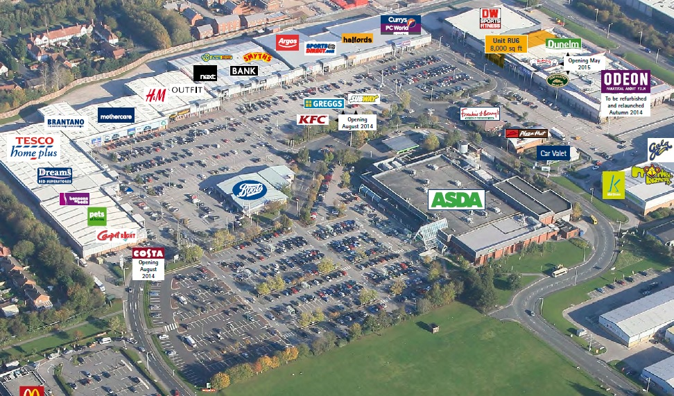 Croft Retail & Leisure Park, Bromborough